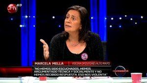 Marcela Mella: Alto Maipo es un proyecto privado que es defendido por el Estado
