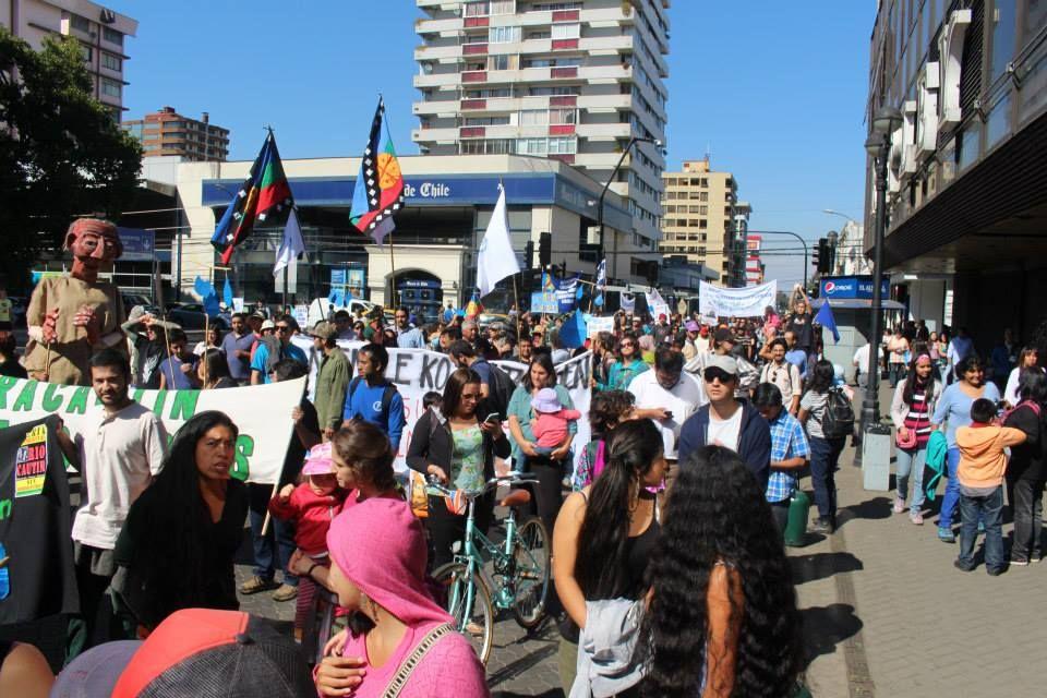 Marcha Agua Temuco 4