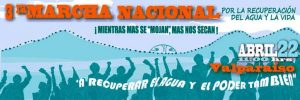 3ra Marcha Nacional por la Recuperación del Agua y la Vida