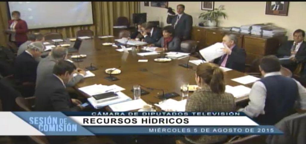 Comision Recursos Hiidricos 5 agosto
