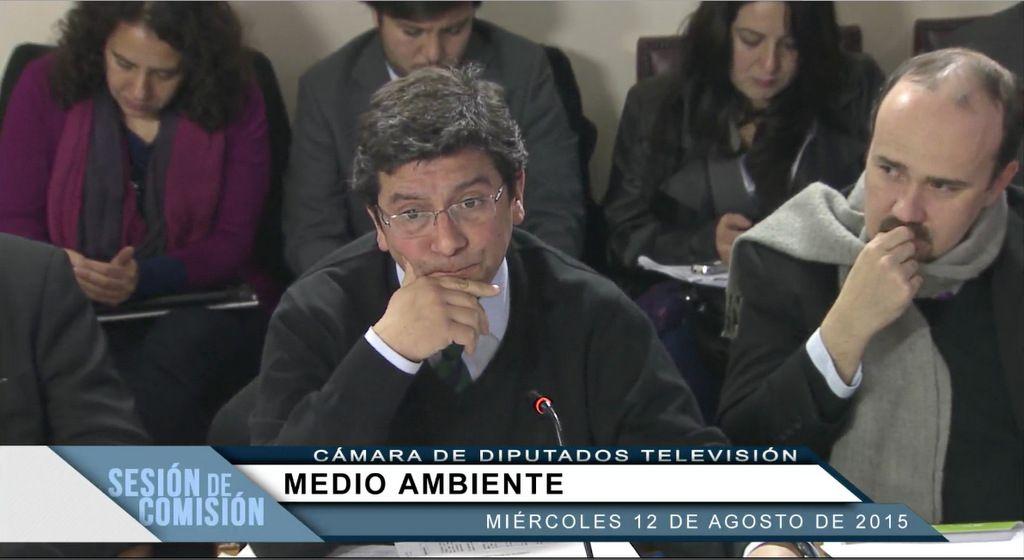Ministro Pablo Badenier 12 agosto