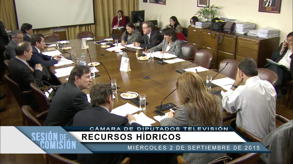 Comision recursos hidricos 2 septiembre
