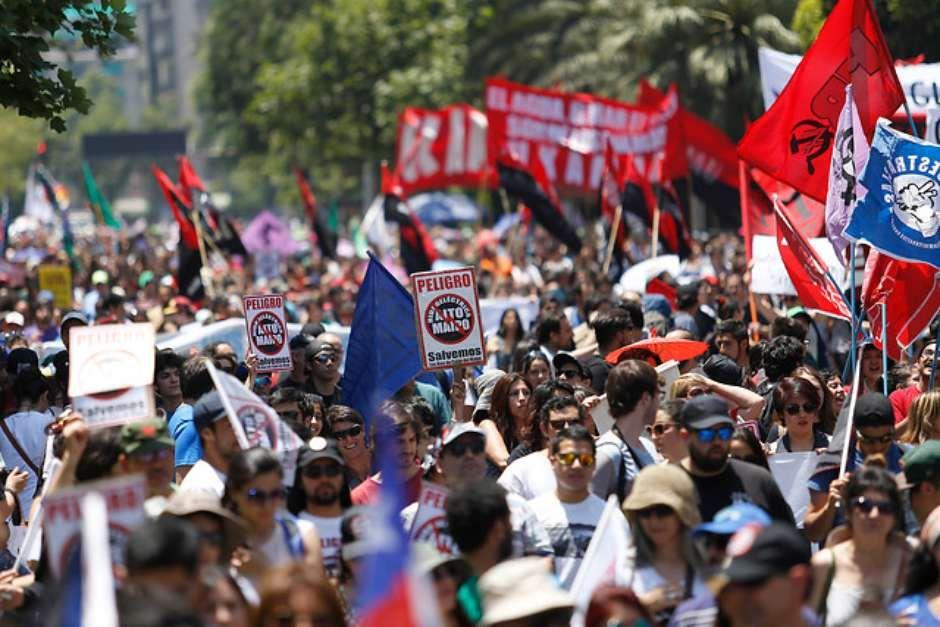 Marcha Alto Maipo 2015