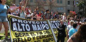 """No a Alto Maipo: """"Gobierno debe asumir la responsabilidad por aprobar el proyecto"""""""
