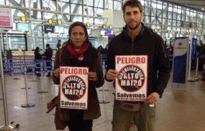 Activistas De No Alto Maipo Interpelan y Funan Al Ministro Máximo Pacheco