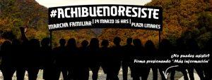Convocan a masiva marcha familiar en Linares  19 de marzo 16 horas en Plaza de armas de Linares.