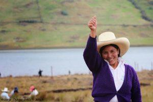 Poder Judicial da triunfo definitivo a Máxima Acuña en litigio contra minera Yanacocha en Perú