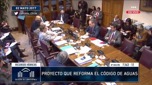 Cámara Alta aprueba idea de legislar reforma al Código de Aguas