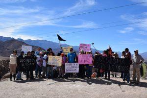 Comunidad de Socoroma protestó pacíficamente en demanda de la revocación de la entrega de 9 mil hectáreas al Ejército