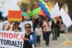 Pueblos Precordilleranos y Cordilleranos Aymaras y Quechuas se Movilizaron en Defensa del Territorio y Contra la Minería