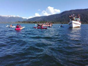 """""""Encuentro de Ecoturismo Marino de la Patagonia Chilena"""" concluyó con gran éxito en Puerto Cisnes"""