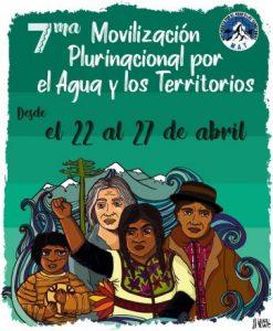 """""""Agua para los pueblos"""": Movilización nacional busca la desprivatización del recurso"""