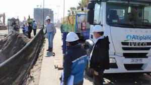 Aseguran que crisis de aguas servidas en playa Chinchorro de Arica no afectó al medio ambiente