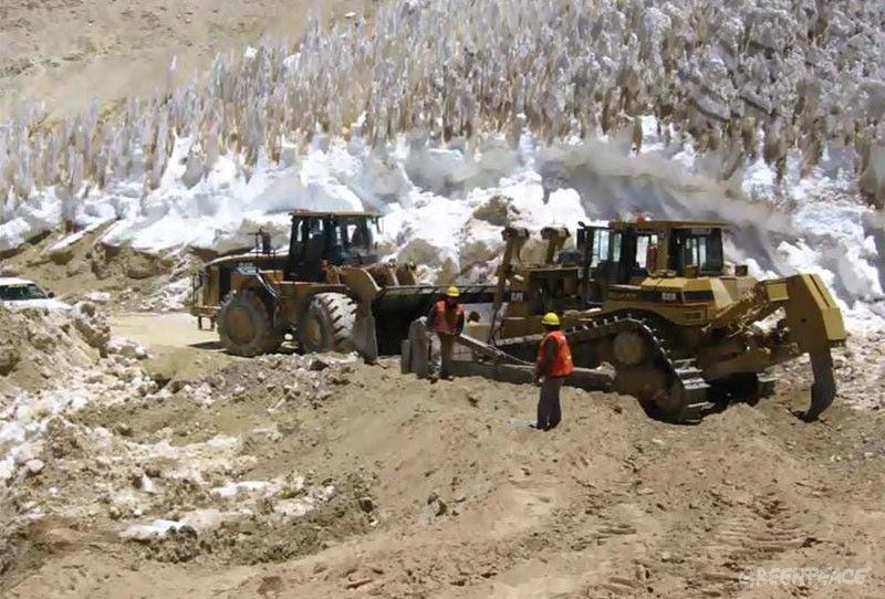 Experto testifica contra Pascua Lama por destrucción de glaciares