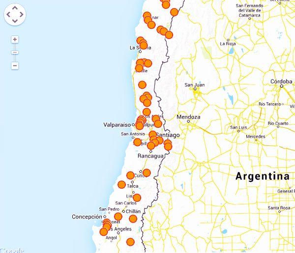 INDH crea mapa interactivo sobre conflictos socioambientales en Chile
