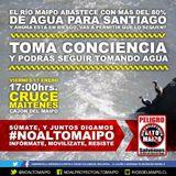 17 de enero actividad ciudadana: NO A ALTO MAIPO