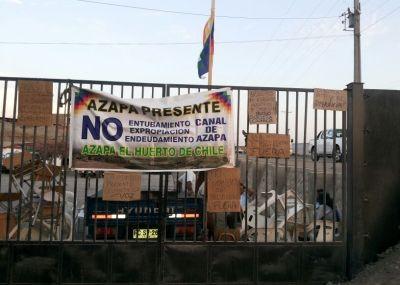 Arica: Agricultores en toma de sede Comca son criminalizados por la defensa del agua
