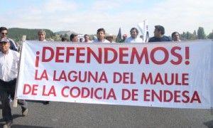 Vuelven cortes de ruta: Regantes del Maule exigen cambios a convenio entre Endesa Chile y MOP