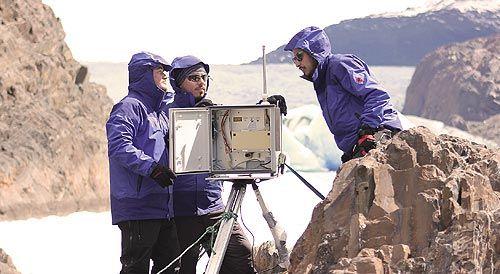 Investigadores USM presentan refugio científico para el estudio de glaciares