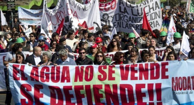 Nacionalizar el Agua en Chile, pero con ganas