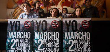 Conozca el recorrido de la marcha en contra de Alto Maipo