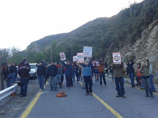 Organizaciones ciudadanas de norte a sur apoyamos la defensa de las aguas y ríos del Cajón del Maipo