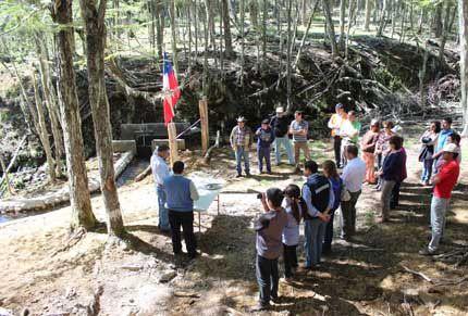 Riego asociativo la nueva apuesta rural en la Región de Aysén