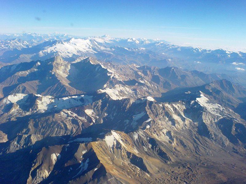 Cordillera de Los Andes afrontará escasez de agua