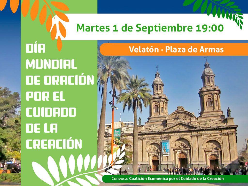 1 Sep. Acto Día Mundial de Oración por el Cuidado de la Creación
