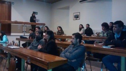 """CODEFF asiste a exhibición de """"Huemul, la sombra de una especie"""" en Universidad de Talca"""