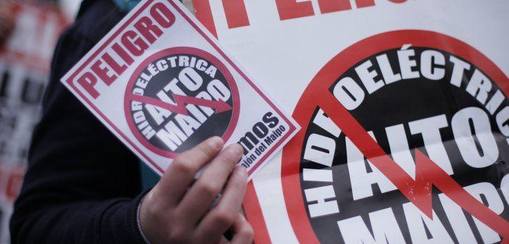 No Alto Maipo rechaza premio recibido por la Hidroeléctrica