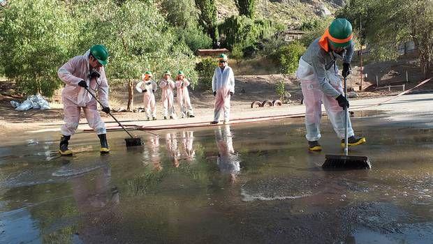 Municipalidad de Los Andes ordena estudio independiente a aguas del río Aconcagua tras derrame de CODELCO