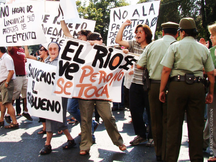 ¡No a la hidroeléctrica en Achibueno! 80% de la población rechaza el proyecto