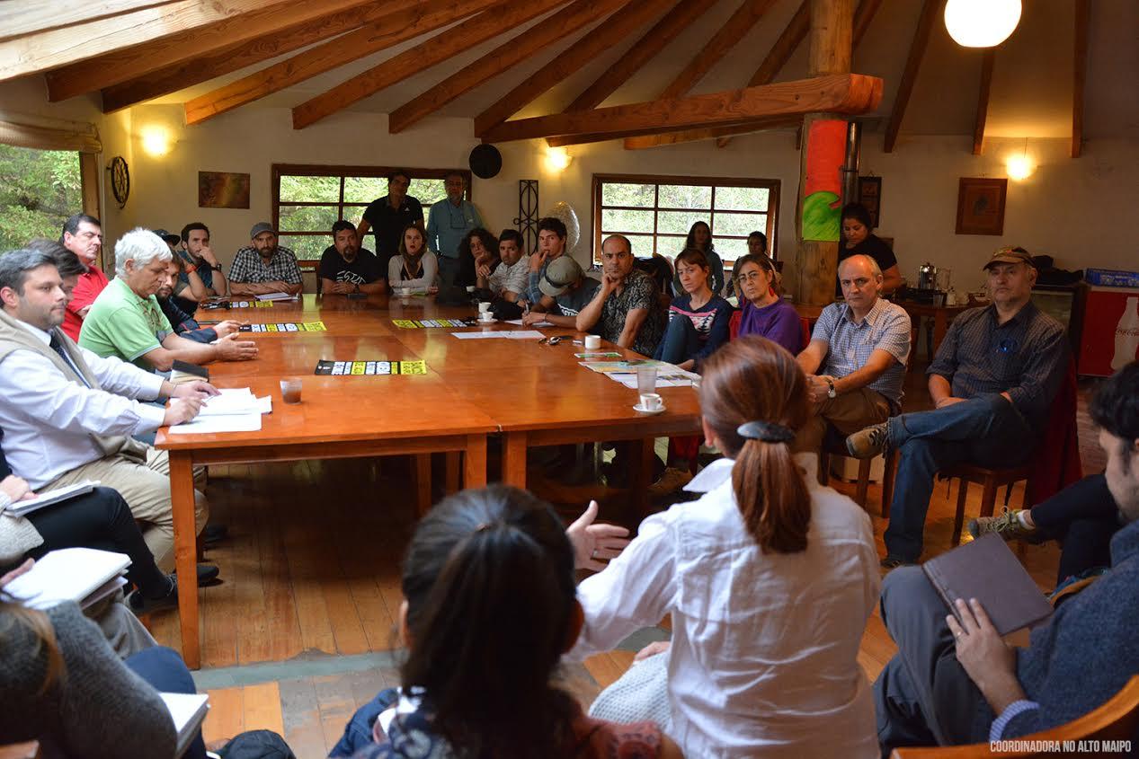Delegaciones de BID e IFC visitan Chile por denuncias sobre Alto Maipo