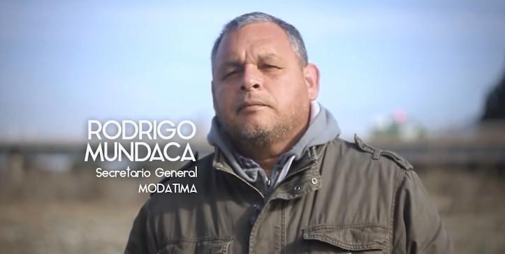 Solidaridad con el dirigente social Rodrigo Mundaca (MODATIMA)