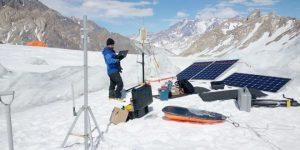 Derretimiento de glaciares en la Cordillera de los Andes, la dramática muestra del cambio climático y que ya está afectando a Aconcagua