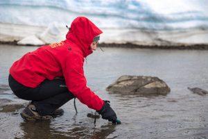 Estudian los niveles de mercurio en lagos y lagunas de la Antártica