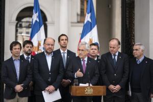 Sin tocar el Código de Aguas: Sebastián Piñera anuncia plan para enfrentar la sequía