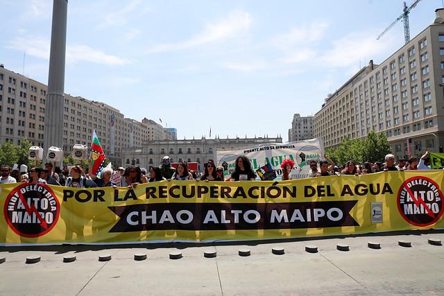 Alto Maipo: Presentan demanda por convenio entre AES Gener y Aguas Andinas