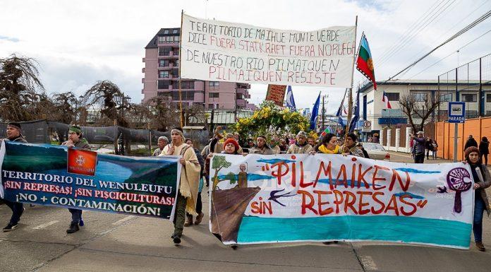 Comunidades Mapuche presentan reclamación judicial ante Segundo Tribunal Ambiental para obtener revisión de permiso de central eléctrica en el río Pilmaiquén