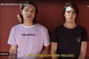 Actores y músicos chilenos se unen para que la Constitución garantice el agua para toda la población